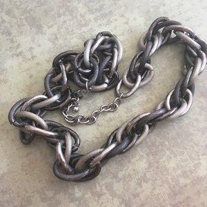 Jewelry - Chunky Gunmetal Chain Link Necklace
